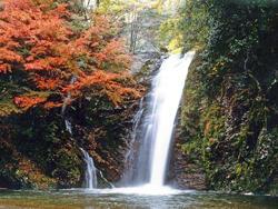 横谷峡 四つの滝