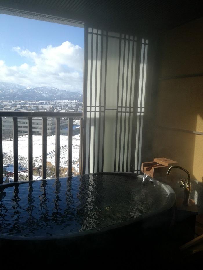 お部屋の朝風呂