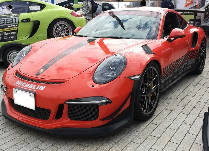 GT3RSオレンジ