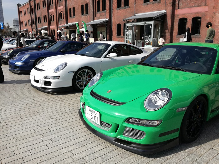 GT3RS緑白