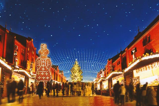 横浜赤レンガクリスマスマーケット