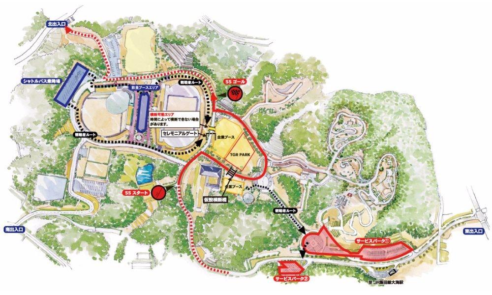新城想像公園マップ