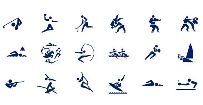 2020オリンピックピクトグラム