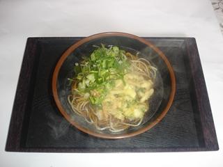 天ぷらそば(うどん)