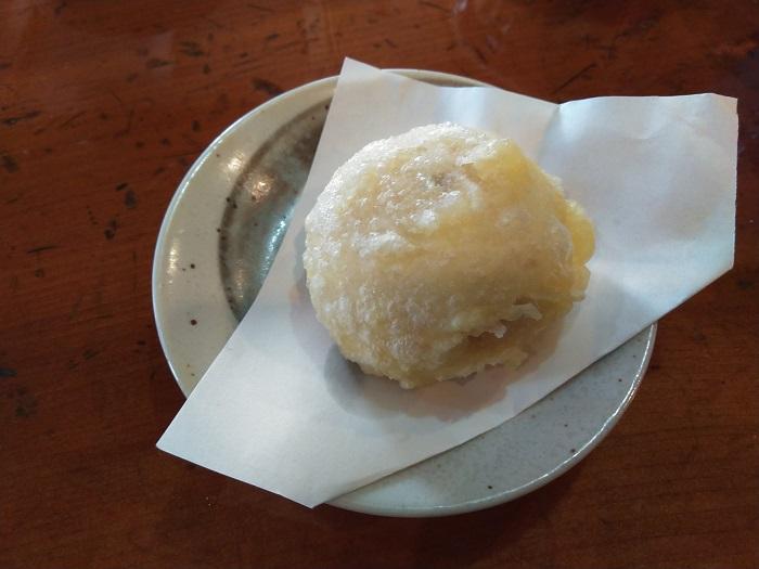 揚げ蕎麦饅頭