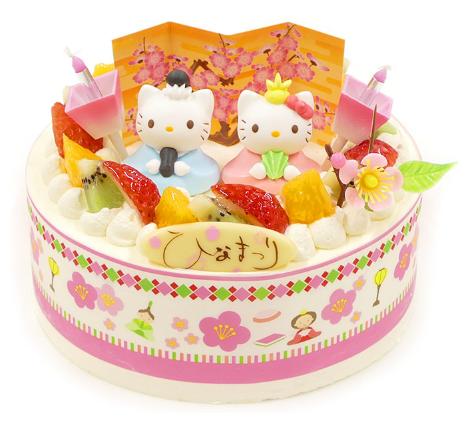 ハローキティひなまつりケーキ