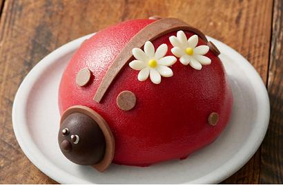 てんとう虫ケーキ