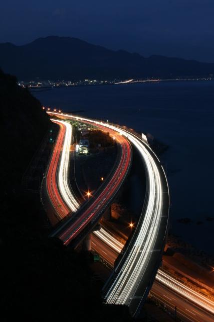 薩埵峠夜景