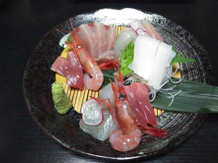 朝獲れ鮮魚の五種傅