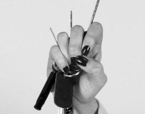 鍵の握り方