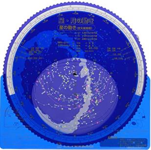 星座板 星・月の動き