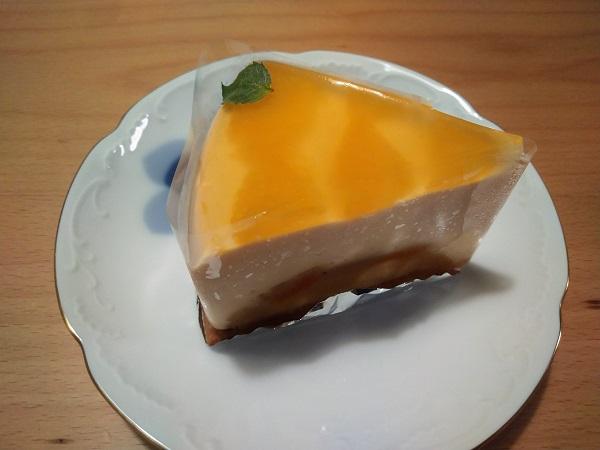 オレンジのババロア